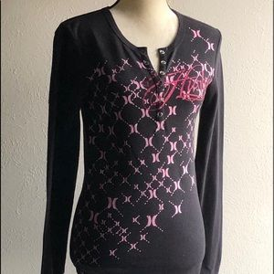 VINTAGE-HURLEY-THERMAL-WOMENS SIZE MEDIUM